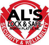 AL'S LOCK & SAFE, Logo